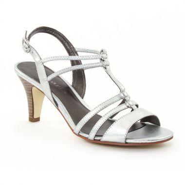 Nu Pieds Et Sandales Tamaris 28300 Silver, vue principale de la chaussure femme