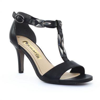 Nu Pieds Et Sandales Tamaris 28312 Black, vue principale de la chaussure femme