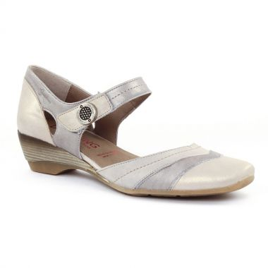 Nu Pieds Et Sandales Dorking 6232 Naturel, vue principale de la chaussure femme