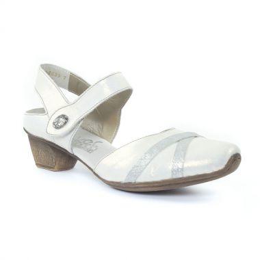 Nu Pieds Et Sandales Rieker 49752 Ice, vue principale de la chaussure femme