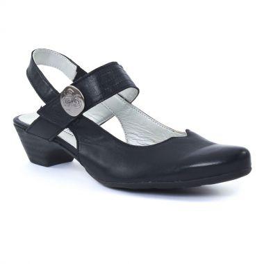 Nu Pieds Et Sandales Scarlatine 6222 Marine, vue principale de la chaussure femme