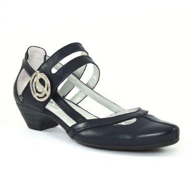 Nu Pieds Et Sandales Scarlatine 7521 Marine, vue principale de la chaussure femme