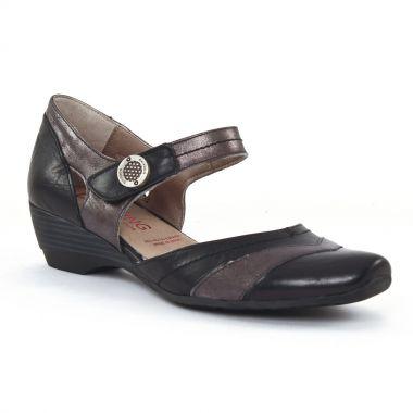Nu Pieds Et Sandales Dorking 6232 Negro, vue principale de la chaussure femme
