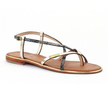 Nu Pieds Et Sandales Les Tropeziennes Monaco Or bleu, vue principale de la chaussure femme