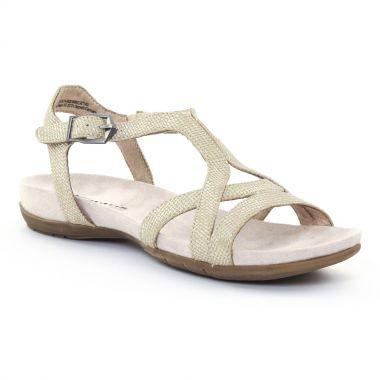 Nu Pieds Et Sandales Tamaris 28120 Gold, vue principale de la chaussure femme