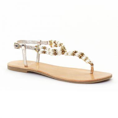 Nu Pieds Et Sandales Gioseppo 27581 Gold, vue principale de la chaussure femme