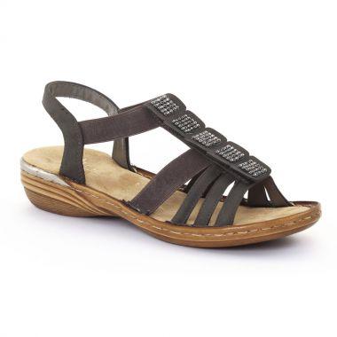 Nu Pieds Et Sandales Rieker 60361 Stromboli, vue principale de la chaussure femme