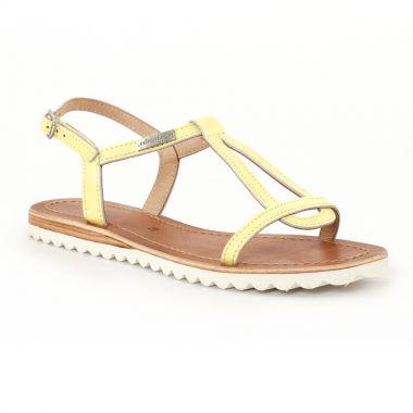 Nu Pieds Et Sandales Les Tropeziennes Evamess Jaune, vue principale de la chaussure femme
