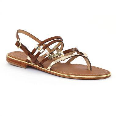 Nu Pieds Et Sandales Les Tropeziennes Cumin Or Tan, vue principale de la chaussure femme