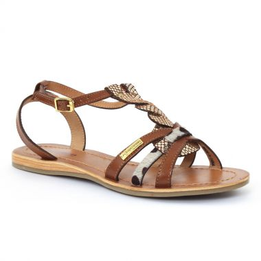Nu Pieds Et Sandales Les Tropeziennes Hams Tan or, vue principale de la chaussure femme