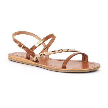 Nu Pieds Et Sandales Les Tropeziennes Bibus Tan, vue principale de la chaussure femme