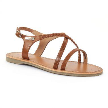 Nu Pieds Et Sandales Les Tropeziennes Hanano Tan, vue principale de la chaussure femme