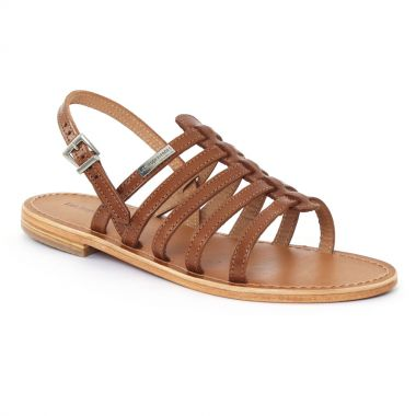 Nu Pieds Et Sandales Les Tropeziennes Havane Tan, vue principale de la chaussure femme