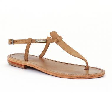 Nu Pieds Et Sandales Les Tropeziennes Narbuck Tan, vue principale de la chaussure femme