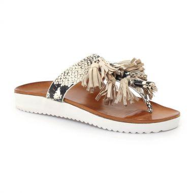 Nu Pieds Et Sandales Femme Plus Xalfa black, vue principale de la chaussure femme