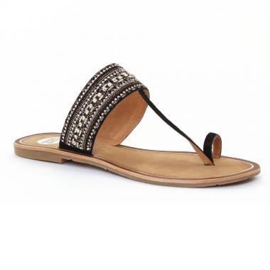 Nu Pieds Et Sandales Gioseppo 27534 Black, vue principale de la chaussure femme