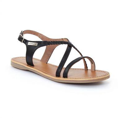 Nu Pieds Et Sandales Les Tropeziennes Hanano Noir, vue principale de la chaussure femme