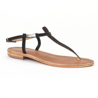 Nu Pieds Et Sandales Les Tropeziennes Narbuck Noir, vue principale de la chaussure femme
