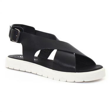 Nu Pieds Et Sandales Scarlatine 44289 Noir, vue principale de la chaussure femme