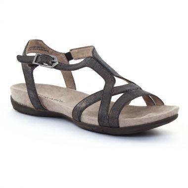 Nu Pieds Et Sandales Tamaris 28120 Black, vue principale de la chaussure femme