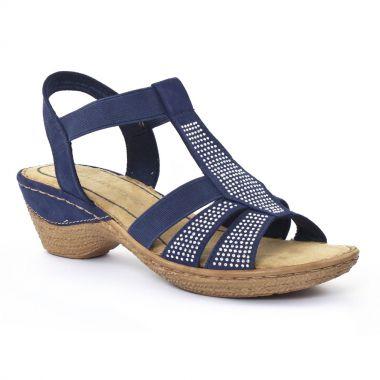 Nu Pieds Et Sandales Marco Tozzi 28801 Ocean, vue principale de la chaussure femme