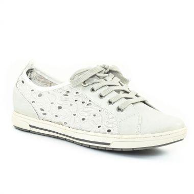Tennis Et Baskets Mode Marco Tozzi 23604 Off White, vue principale de la chaussure femme