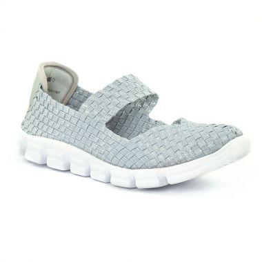 Tennis Et Baskets Mode Tamaris 24700 Grey Silver, vue principale de la chaussure femme