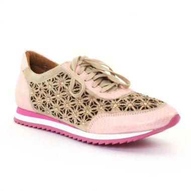 Tennis Et Baskets Mode Femme Plus Zaola Pink, vue principale de la chaussure femme