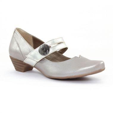 Escarpins Scarlatine 7904 Champagne, vue principale de la chaussure femme