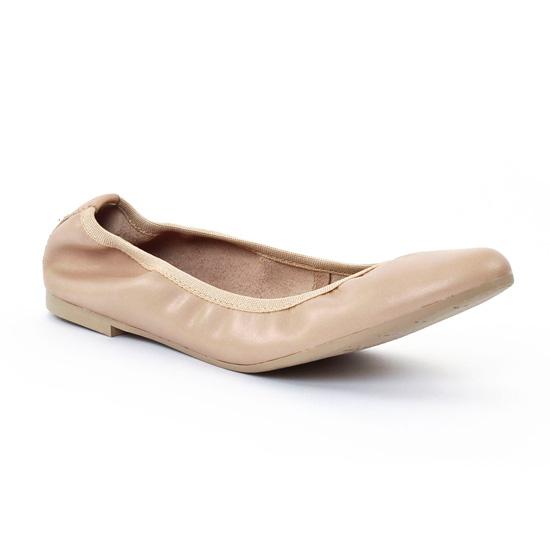 Ballerines Tamaris 22128 Beige, vue principale de la chaussure femme
