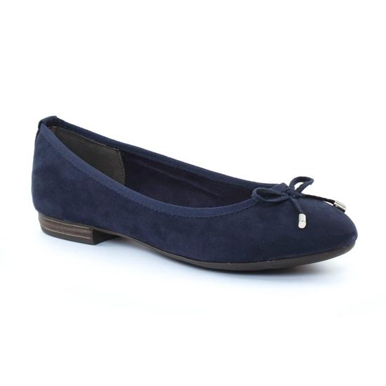 Ballerines Marco Tozzi 22135 Navy, vue principale de la chaussure femme
