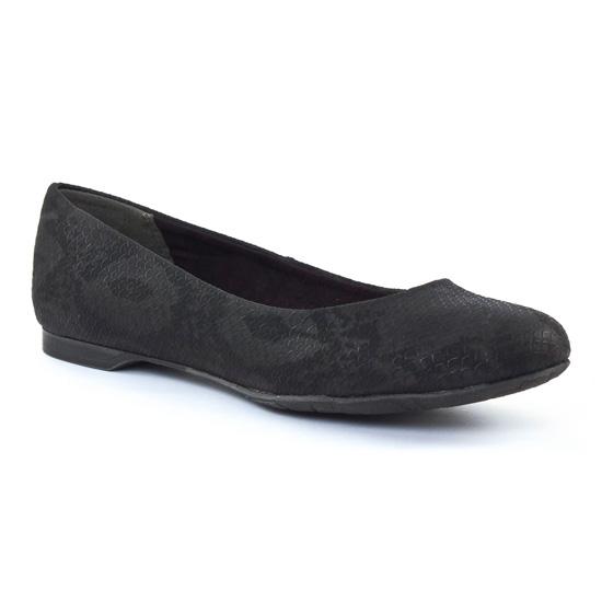 Ballerines Marco Tozzi 22105 Black, vue principale de la chaussure femme