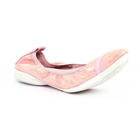 Ballerines Fugitive Nomad Python Rose, vue principale de la chaussure femme