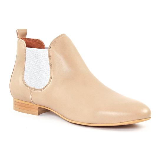 Bottines Et Boots Scarlatine 8476C Tufo Argent, vue principale de la chaussure femme