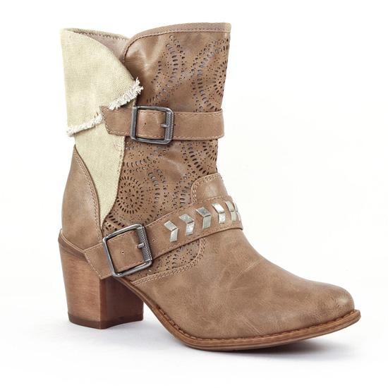 Bottines Et Boots Tamaris 25316 Taupe Sand, vue principale de la chaussure femme