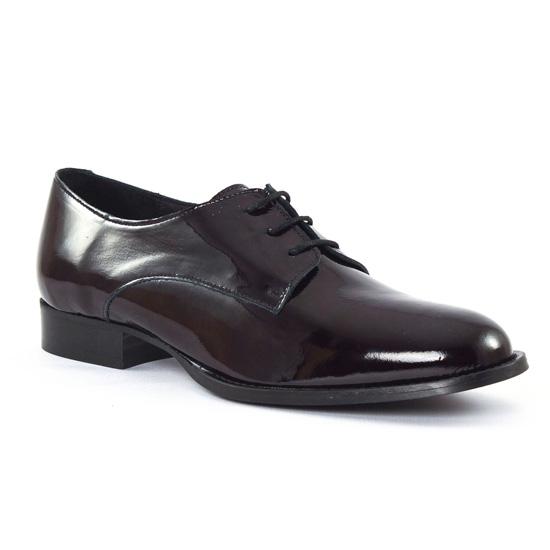 Chaussures À Lacets Scarlatine 22001T Noir, vue principale de la chaussure femme
