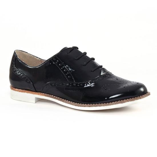 Chaussures À Lacets Tamaris 23203 Black, vue principale de la chaussure femme