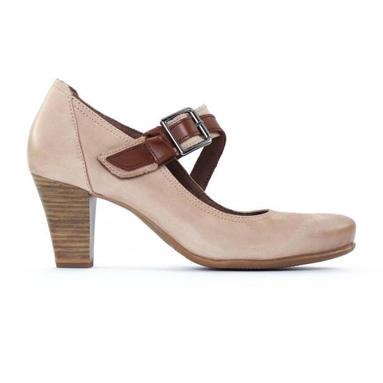 Escarpins Tamaris 24402 Pepper Moca, vue principale de la chaussure femme