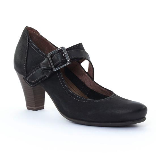 Escarpins Tamaris 24402 Black, vue principale de la chaussure femme