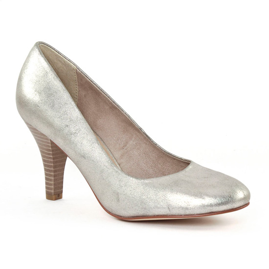 Escarpins Tamaris 22414 Platinum, vue principale de la chaussure femme