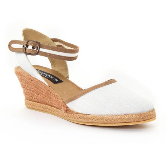 Espadrilles Scarlatine 5t57 White, vue principale de la chaussure femme