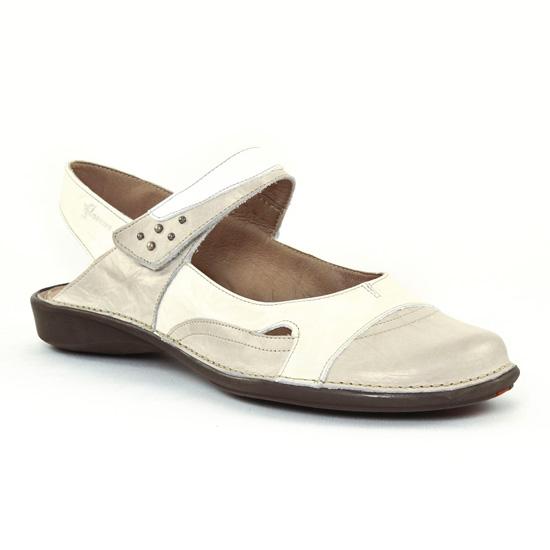 Nu Pieds Et Sandales Dorking 6209 Cristal, vue principale de la chaussure femme
