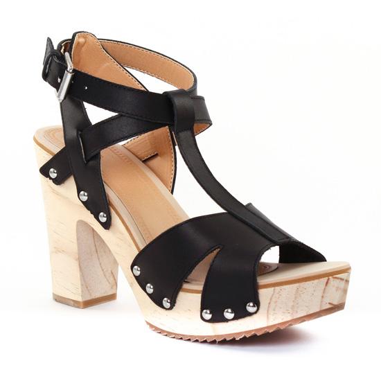 Nu Pieds Et Sandales Gioseppo 25590 Black, vue principale de la chaussure femme