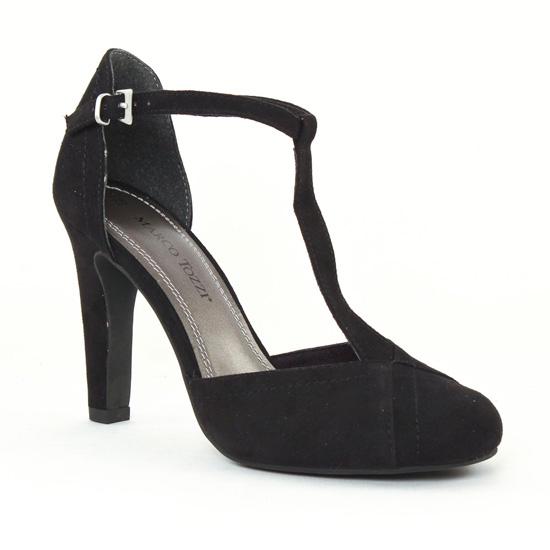 Nu Pieds Et Sandales Marco Tozzi 24405 Black, vue principale de la chaussure femme