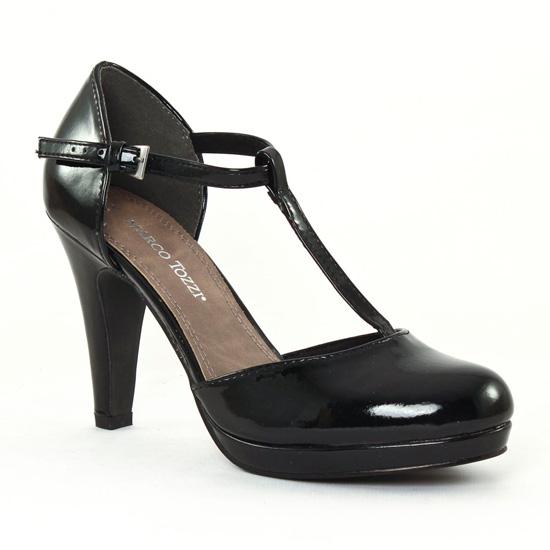 Nu Pieds Et Sandales Marco Tozzi 24416 Black, vue principale de la chaussure femme
