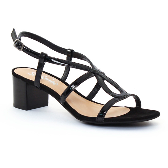 Nu Pieds Et Sandales Scarlatine 9404F Noir, vue principale de la chaussure femme