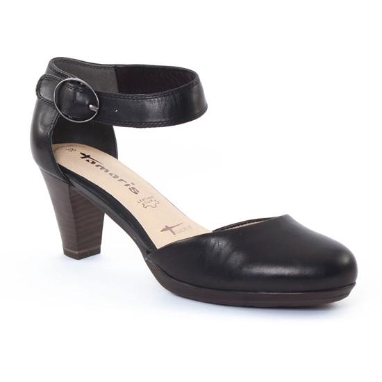 Nu Pieds Et Sandales Tamaris 24406 Black, vue principale de la chaussure femme