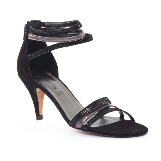 Nu Pieds Et Sandales Tamaris 28369 Black, vue principale de la chaussure femme