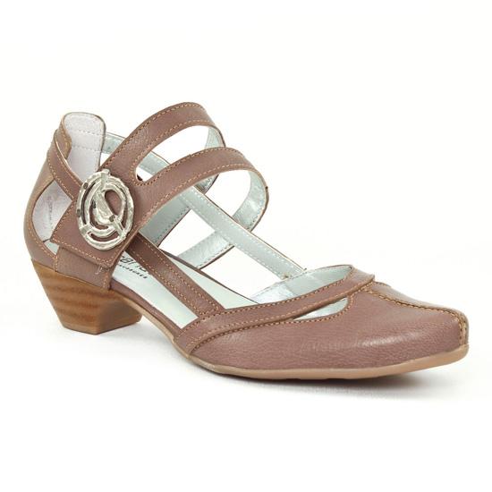 Nu Pieds Et Sandales Scarlatine 7521 Taupe, vue principale de la chaussure femme