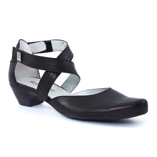 Nu Pieds Et Sandales Scarlatine 6219 Noir, vue principale de la chaussure femme